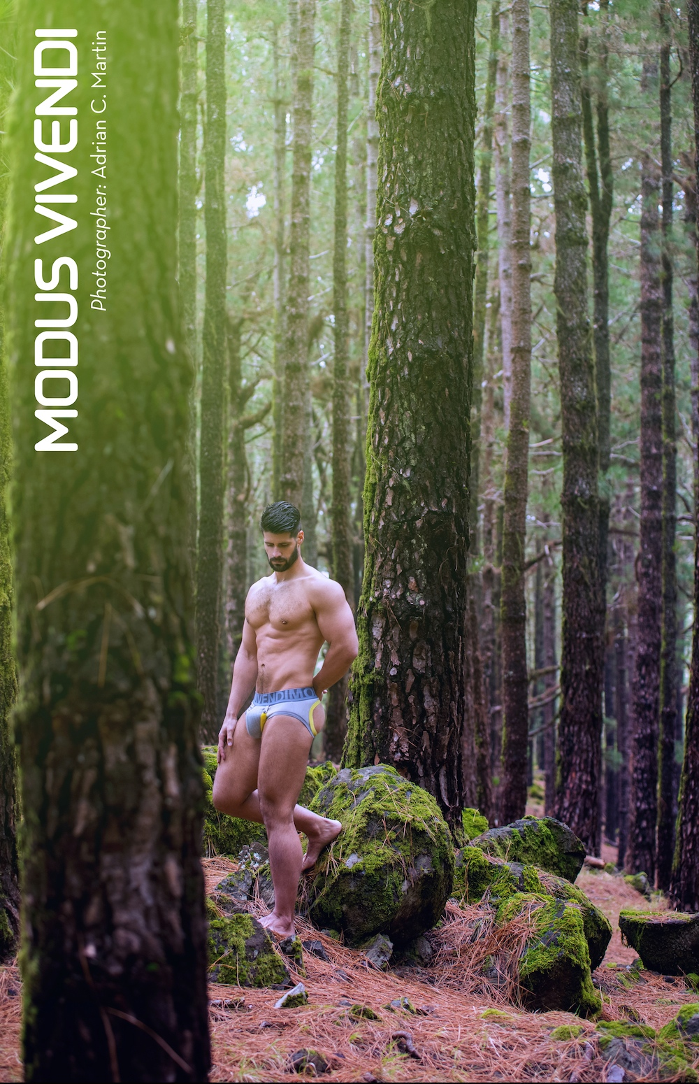 Model Fran Otero photographed by Adrian C. Martin - Modus Vivendi Bear Line campaign