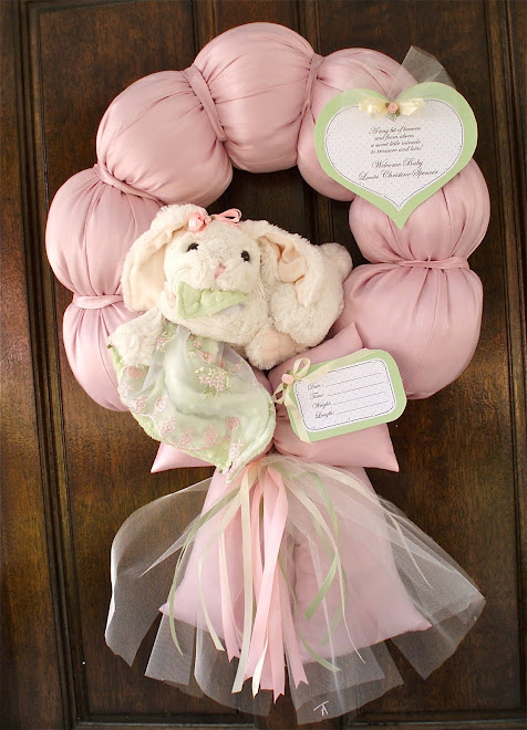 "75. custom ""Olivia"" baby wreath"