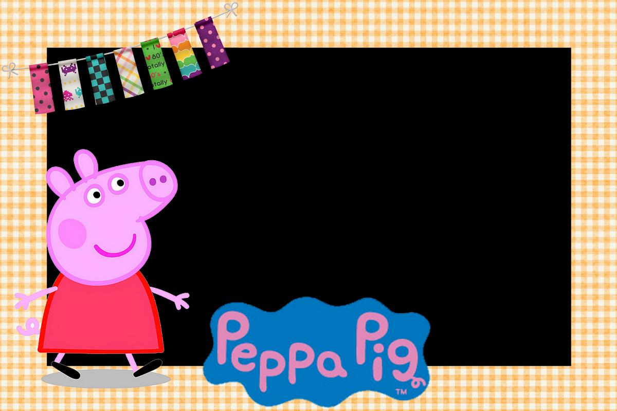 marcos de fotos de peppa la cerdita o peppa pig marcos gratis para