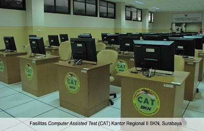 Foto Ruangan Computer Assisted Test (CAT) CPNS 2013