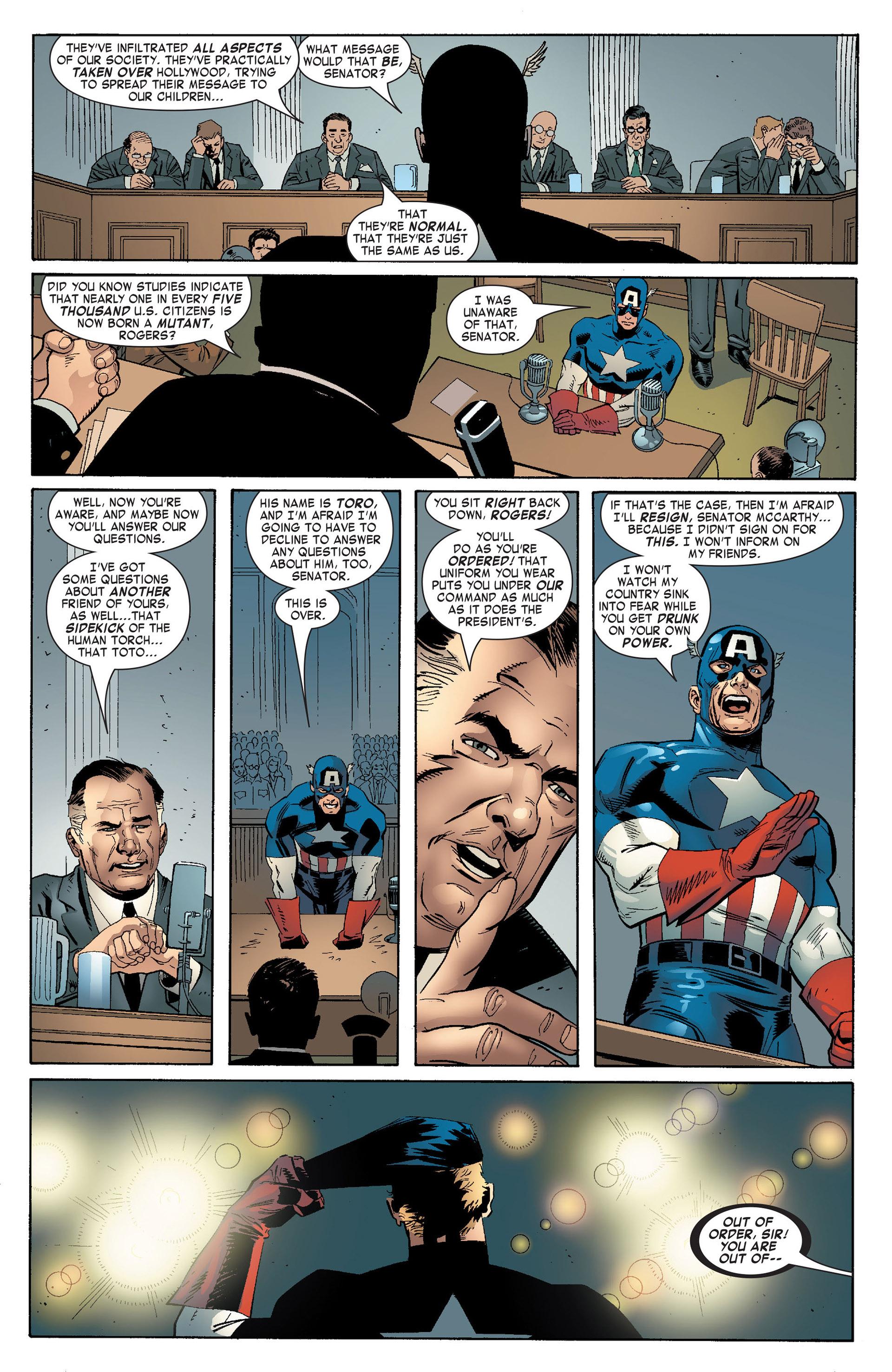 Captain America (2005) Issue #10 #10 - English 13