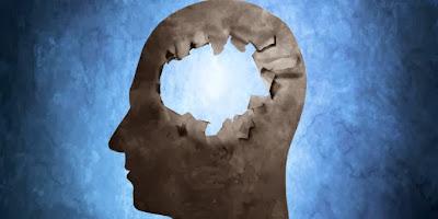 lack of vitamin D caused the brain damage!