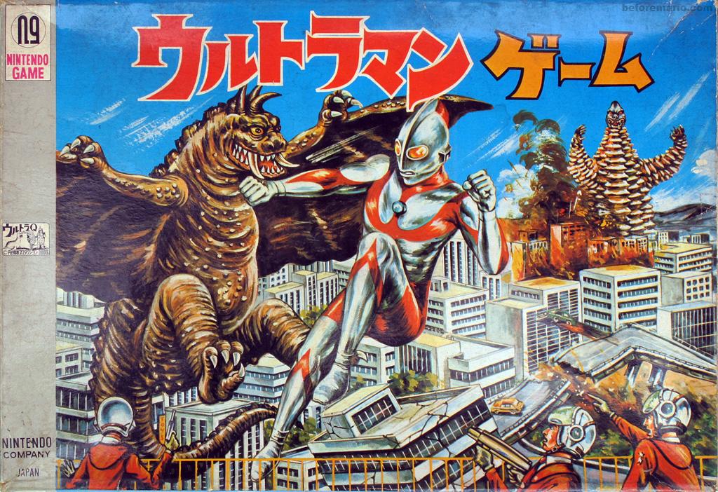 beforemario: Nintendo Ultraman Game #1 (?????? ???, 1966)