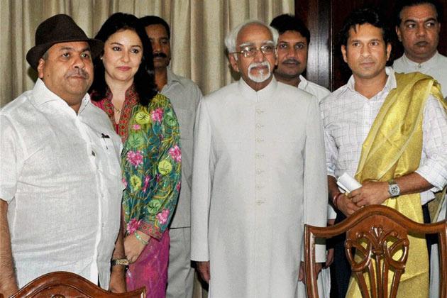 Sachin as MP Photos