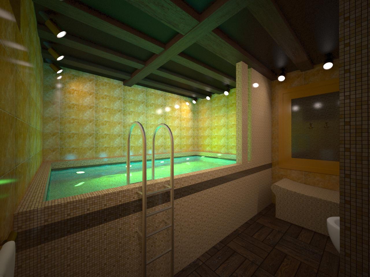 Бассейн в подвале - типы конструкций, фильтры, строительство 20