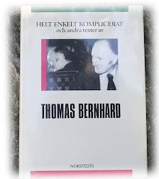 en sommar med Thomas Bernhard: