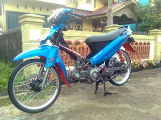 motor vega modifikasi pontianak title=