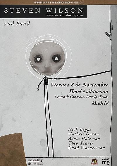 Cartel promocional del concierto