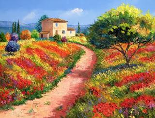 Cultivos Flores Cuadros Modernos
