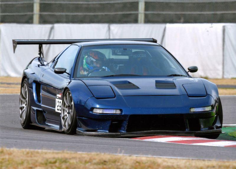 Honda NSX, blue, front, VTEC is kicking in yo, typowa Honda, Hondziaż, ikony japońskiej motoryzacji, najlepsze sportowe samochody z lat 90, kultowe auta z duszą, tuning, wyścigi