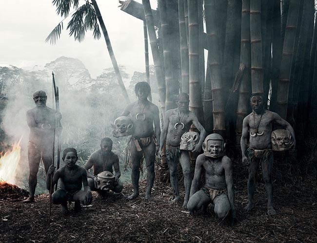 46 Must See Stunning Portraits Of The World's Remotest Tribes Before They Pass Away - Asaro, Indonesia and Papua New Guinea