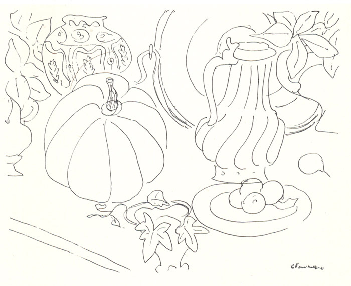 Contour Line Drawing Still Life : Oca learning drawing research point line