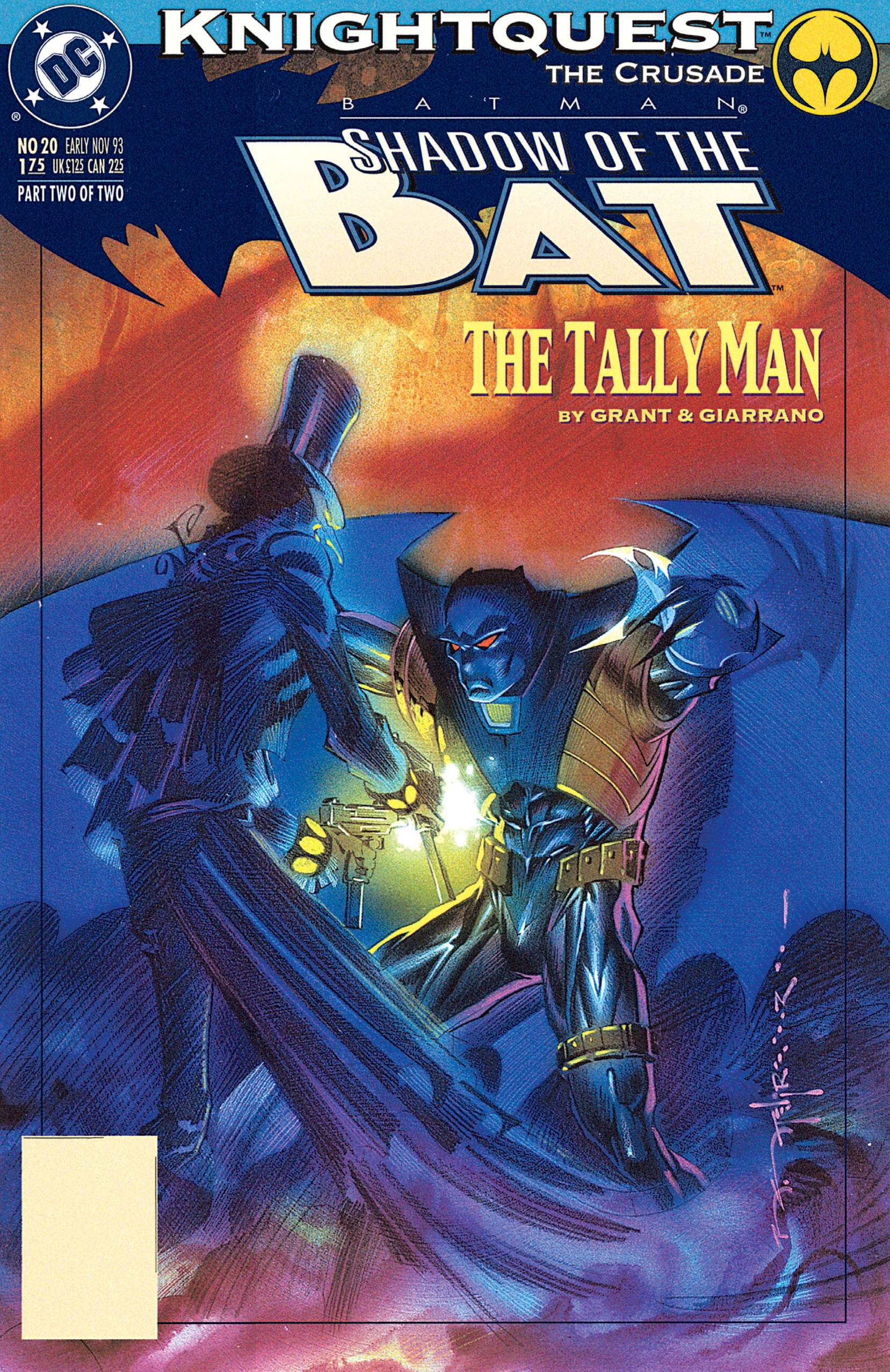 Batman: Shadow of the Bat 20 Page 1