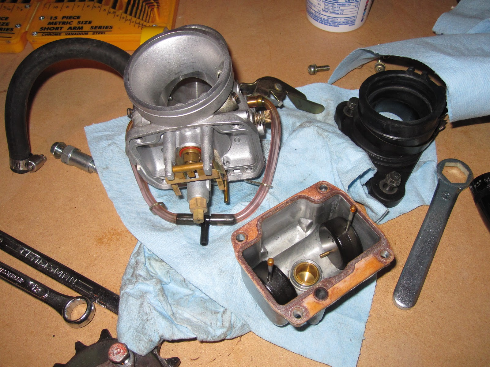 The Gb500 Experience October 2012 Honda Wiring Carb Rebuild