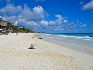 White Soft-Sand Beach in Tulum - Mexico's Caribbean