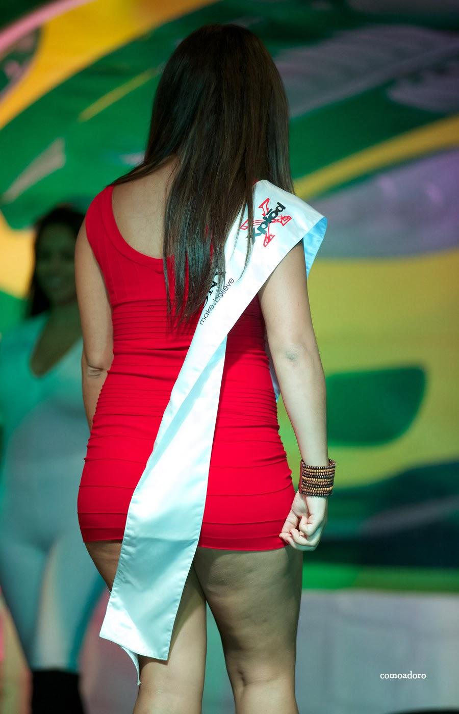 Mujeres En Vestido Cortos Edecanes En Leggins Lycra