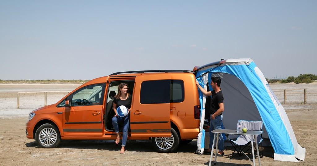 camper stuebchen minicamper vw caddy beach. Black Bedroom Furniture Sets. Home Design Ideas