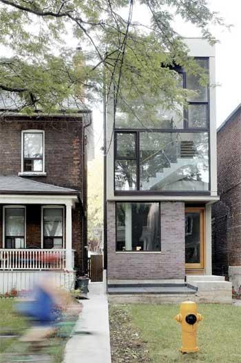20 desain bangunan rumah tinggal modern di lahan sempit 014