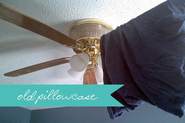 20 Genius Hacks That Will Help You Clean Anything You Can Imagine! - Ceiling Fan Cleaner
