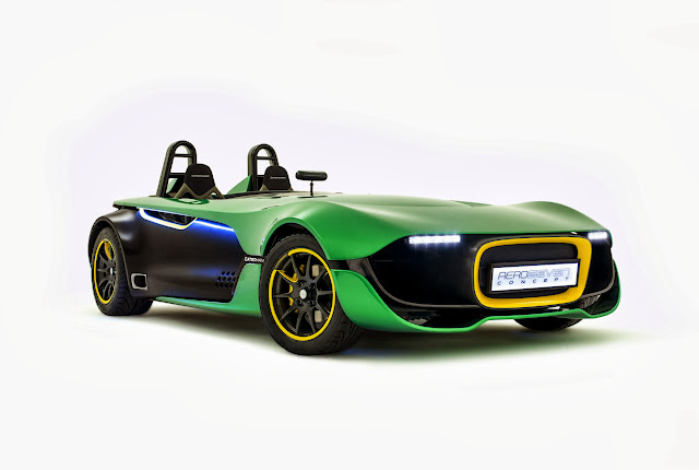 Caterham+Aero+Seven+Front+Three+quarters [Video] Caterham AeroSeven Concept: Lean and Green