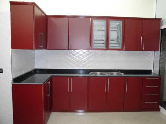 Cuisine en aluminium- comptoir- armoire - moustiquaire -fenêtres ...
