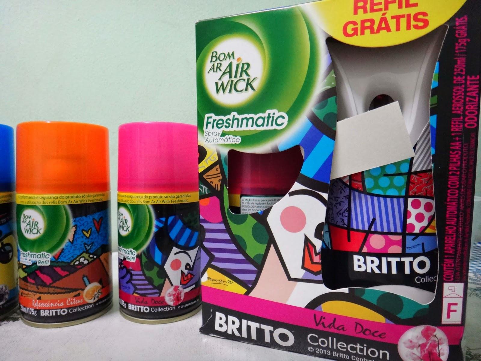 Casa perfumada e com estilo: Conheça a nova Edição Limitada Bom Ar Air Wick assinada por Romero Britto