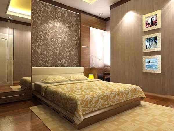 27 Contoh Desain Wallpaper Kamar Tidur Minimalis Modern Simpel