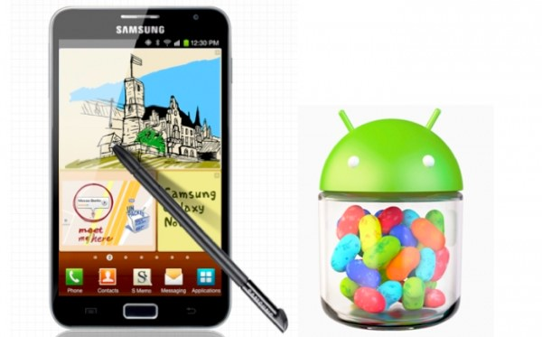 Samsung Galaxy Note To Receive Android Jelly Bean Update From March 1