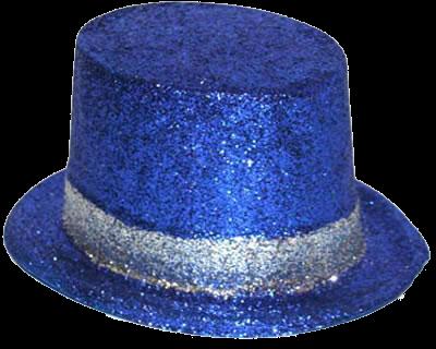 Chapéu azul png