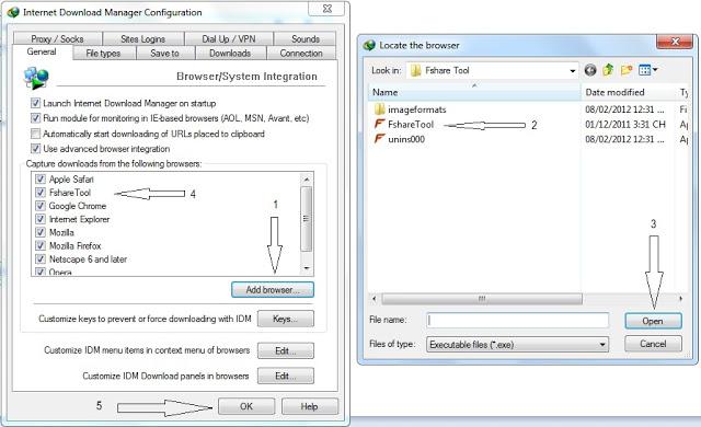 Cách download bằng tài khoản Vip kết hợp với Fshare tool và IDM