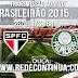 SÃO PAULO x PALMEIRAS - BRASILEIRÃO - 26/09 - 16h