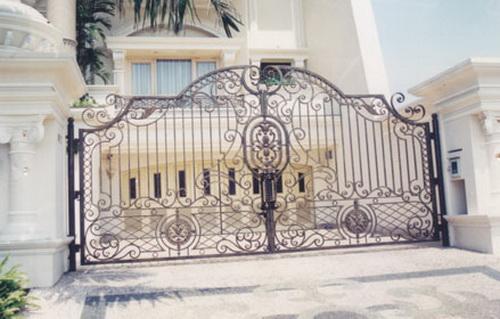 Pagar Rumah Minimalis Dan Klasik Gate House Design