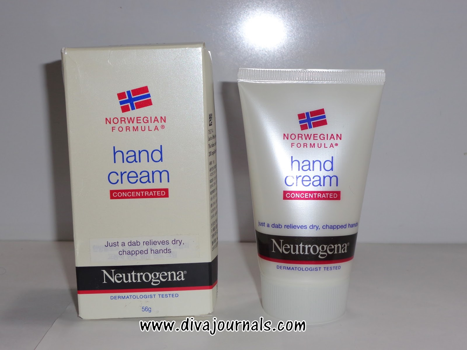 Norwegian formula hand cream review