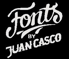 Fonts by Juan Casco