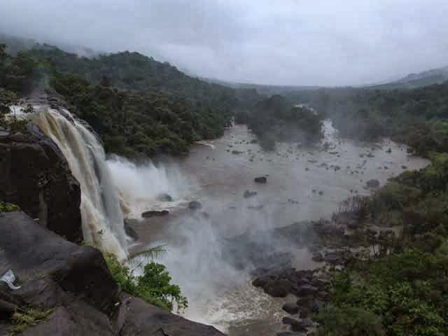 Athirapally Falls in Kerala