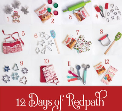 Redpath 12 Days of Christmas Giveaway
