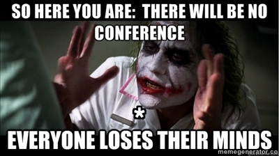 The Joker or The Croaker?  Like a Bullfrog Stuck in the Muck of a NTCC Poo Pond, New Testament Christian Churches of America, Inc.  CEO mIKe kEKEl Rudely Announced There Will Be No Fall Conference for NTCC in 2013 [See his Quote Below This Photo]