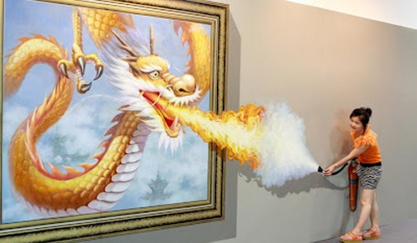 Pinturas 3D en China