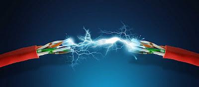 Chapuzas de electricidad