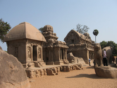 Pancharathas, Mahabalipuram