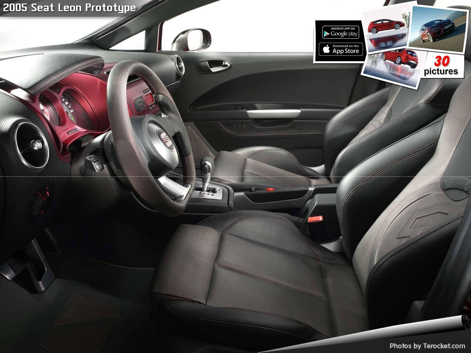 Hình ảnh xe ô tô Seat Leon Prototype 2005 & nội ngoại thất