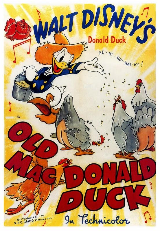 Trésors Disney : les courts métrages, créateurs & raretés des studios Disney - Page 5 Old+mac+donald+duck+1941