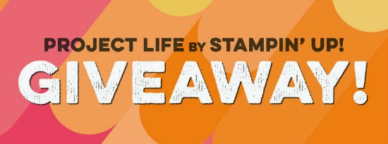 Project Life by Stampin' Up! Giveaway