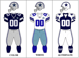 Lone Star State Of Mind Top 10 Nfl Uniforms