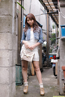 Yuki Jin Japanese Sexy Model Sexy Mini Skirt Outdoor And Indoor 8