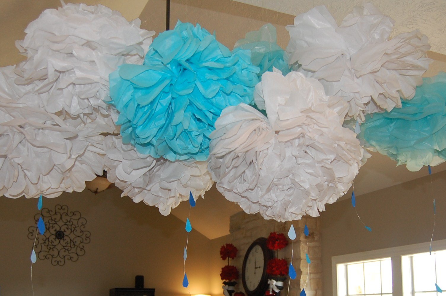 Maurer party of five baby shower for baby kemper for Baby shower decoration ideas pinterest