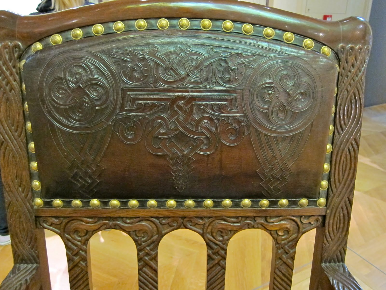aestheticus rex  holy odin  viking revival furniture