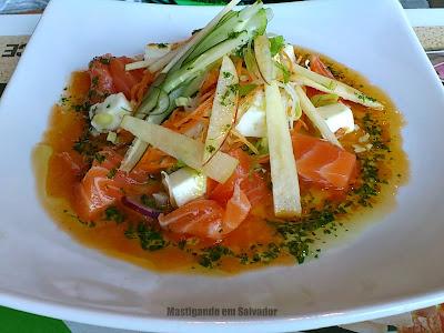 Aice Zushi: Salada Oriental Agridoce