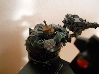modelismo fantástico: warhammer 40.000 karro orko