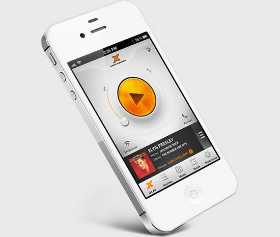 Radio Express iOS app